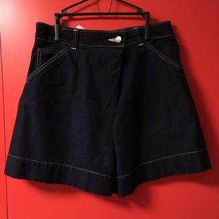 ヴィヴィアンウエストウッド(Vivienne Westwood)のデニムスカート ネイビー(ミニスカート)