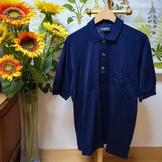 アイグナー(AIGNER)の✨AIGNER アイグナー 濃紺色のポロシャツ3Lサイズ♪(ポロシャツ)