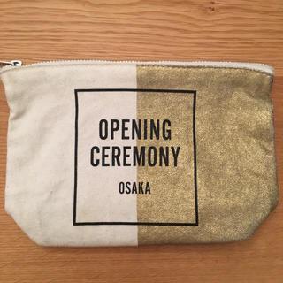 オープニングセレモニー(OPENING CEREMONY)の■OPENING CEREMONY 大阪限定 ポーチ(ポーチ)
