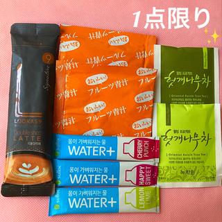 ⭐️超限定⭐️ルーカス9   ダブルショットラテ&二日酔いに効く美味しいお茶⭐️(茶)