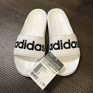 アディダス(adidas)のアディダス カロズーン  白(サンダル)