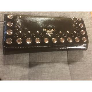 プラダ(PRADA)のPRADAビジュー長財布♡(財布)