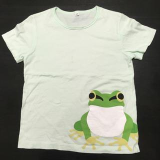 ムジルシリョウヒン(MUJI (無印良品))のTシャツ  カエル  無印良品  半袖  SIZE130(Tシャツ/カットソー)