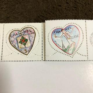 シャネル(CHANEL)のシャネル ♡フランス記念切手♪(切手/官製はがき)