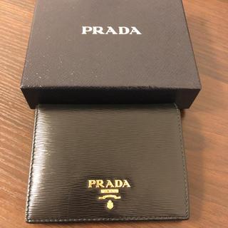 プラダ(PRADA)のプラダ  二つ折り  財布  美品(財布)