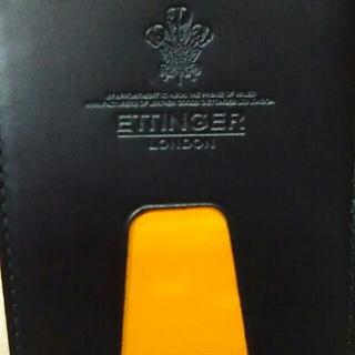 エッティンガー(ETTINGER)の新品 ETTIN GER エッティンガー パス、定期ケース(名刺入れ/定期入れ)