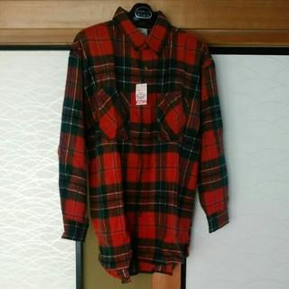 シマムラ(しまむら)のしまむら紳士チェックシャツ(ポロシャツ)