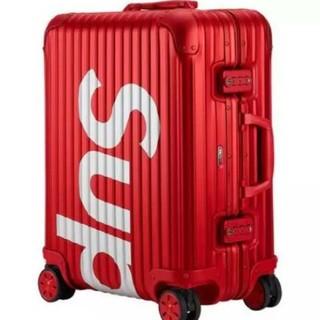 シュプリーム(Supreme)のSupreme×Rimowa スーツケースRed 45L(トラベルバッグ/スーツケース)