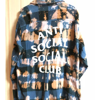 アンチ(ANTI)のANTI SOCIAL SOCIAL CLUB Buffalo Flannel(シャツ)