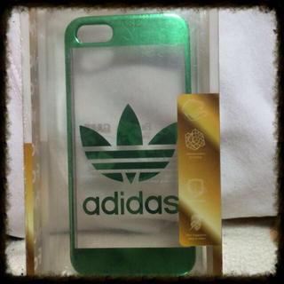 アディダス(adidas)のiPhone5/5sケース(その他)