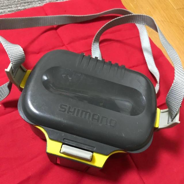 SHIMANO(シマノ)のSHIMANO 渓流 餌ケース ステンレス スポーツ/アウトドアのフィッシング(その他)の商品写真
