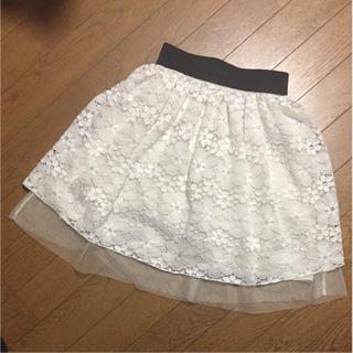 シマムラ(しまむら)のレーススカート150(スカート)
