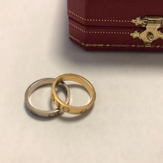 カルティエ(Cartier)のカルティエ ミニラブリング  ペアセット(リング(指輪))