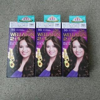ウエラ(WELLA)の☆新品・未使用☆WELLA(ウェラ)クリーム白髪染め3個セット(白髪染め)
