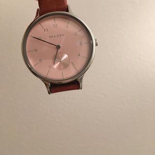 スカーゲン(SKAGEN)のスカーゲン 腕時計(ピンク)(腕時計)