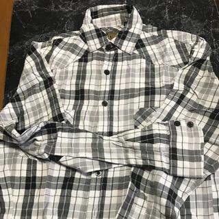 サーカ(CIRCA)の綿100% モノトーンチェック柄 長袖シャツ(シャツ)