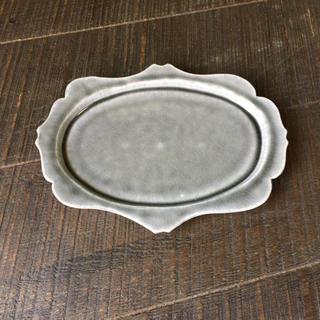 値引可 新品 広瀬佳子 洋皿 L アンティーク 益子焼 入手困難 レア 食器(食器)