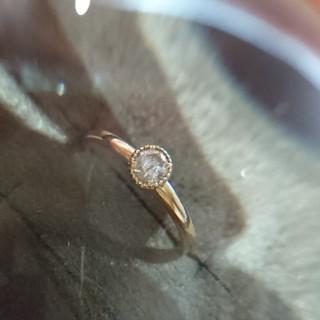 K18 ダイヤモンドリング アーカー アガット(リング(指輪))