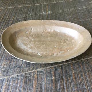値引可 レア 新品 吉田次朗 オーバル 皿 楕円 洋皿 アンティーク 入手困難(食器)