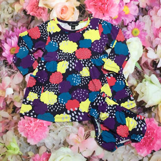 マリメッコ(marimekko)のマリメッコ 80 ワンピース パンツ付き セット カラフル marimekko(ワンピース)