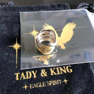 ゴローズ(goro's)のtady&king タディ&キング 先金 フェザーリング 8号 k18(リング(指輪))