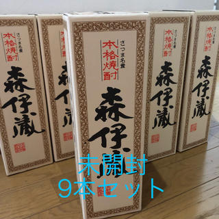 JALファースト&ビジネスクラス専売♡森伊蔵720ml 9本セット(焼酎)