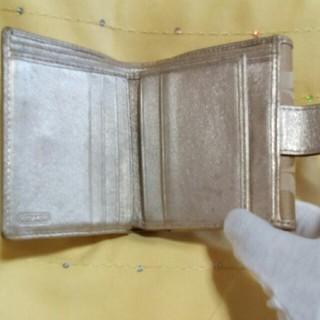 コーチ(COACH)のCOACHの折り財布確認用ページ(財布)
