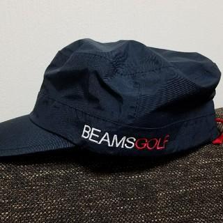 ビームス(BEAMS)のBEAMSゴルフキャップ(ウエア)