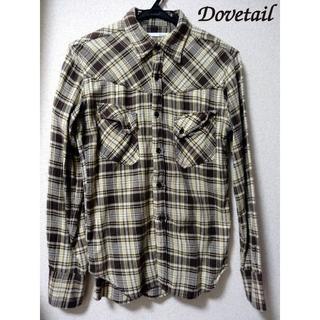 ダブテイル(Dovetail)のDovetail チェックシャツ 長袖 柄 アメカジ M ダブテイル インド製(シャツ)