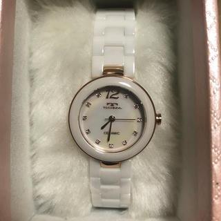テクノス(TECHNOS)のテクノス ホワイト 腕時計(腕時計)