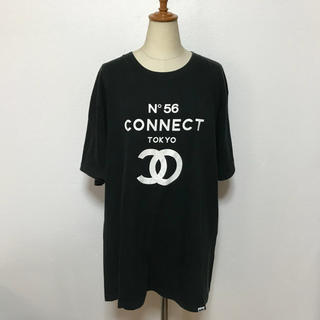 コネクト(connect)の 「CONNECT 」ロゴプリントTシャツ(Tシャツ/カットソー(半袖/袖なし))