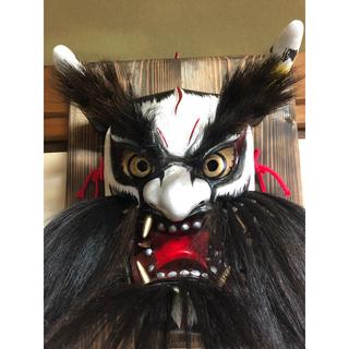 神楽面 男面(伝統芸能)