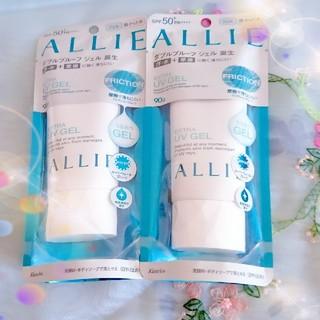 アリィー(ALLIE)のALLIE アリー エクストラ UV ジェル 日焼け止めジェル 90g 2袋(日焼け止め/サンオイル)