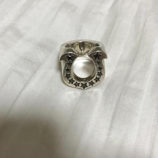 テンダーロイン(TENDERLOIN)のテンダーロイン TENGERLOIN ホースシューリング アフターダイヤ(リング(指輪))