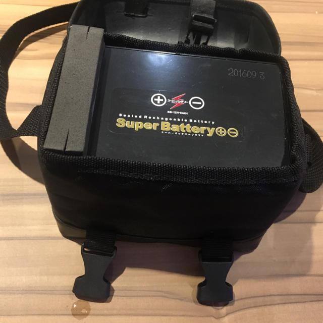 電動リール用バッテリー スーパーバッテリー 12V/13AH スポーツ/アウトドアのフィッシング(その他)の商品写真