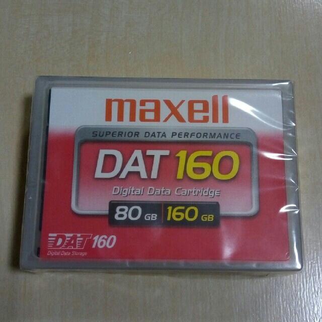 maxell(マクセル)のmaxell DAT 80GB/160GB 5巻セット スマホ/家電/カメラのPC/タブレット(PCパーツ)の商品写真