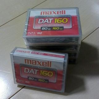 マクセル(maxell)のmaxell DAT 80GB/160GB 5巻セット(PCパーツ)