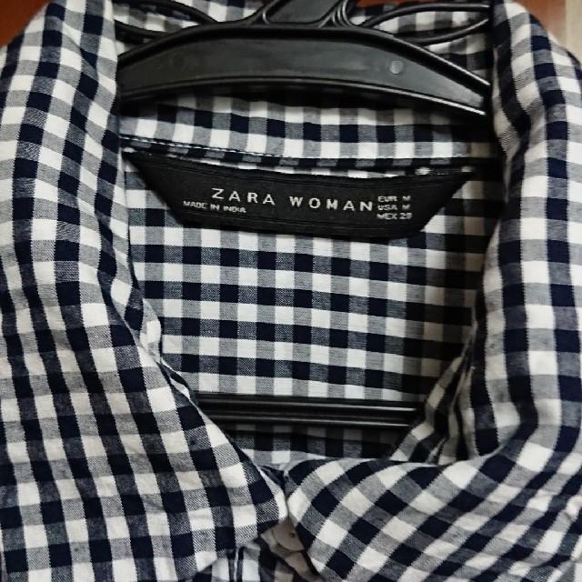 ZARA(ザラ)のZARA シャツ レディースのトップス(シャツ/ブラウス(長袖/七分))の商品写真