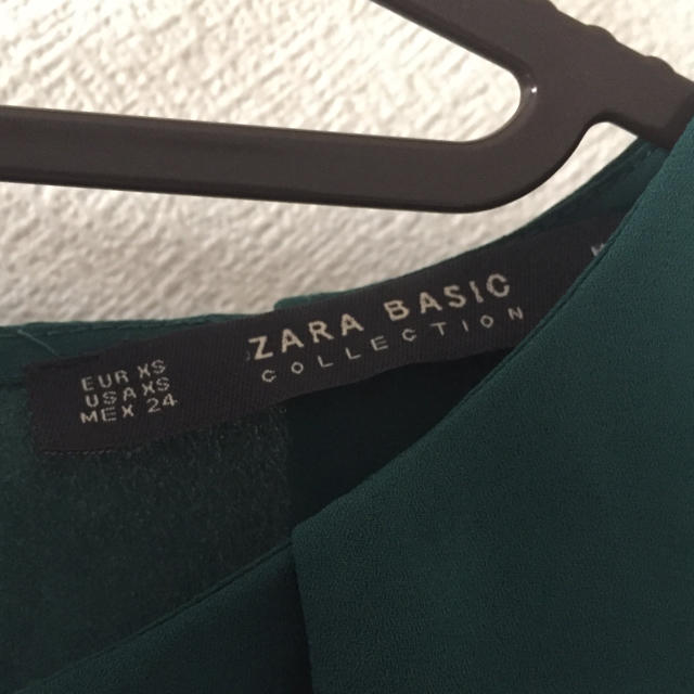ZARA(ザラ)の【値下げ】ZARA*刺繍ブラウス レディースのトップス(シャツ/ブラウス(長袖/七分))の商品写真