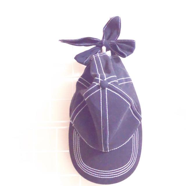 ZARA(ザラ)のリボン キャップ帽 レディースの帽子(キャップ)の商品写真