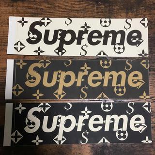 シュプリーム(Supreme)の[今週限定] supreme モノグラム box sticker ヴィトン(その他)