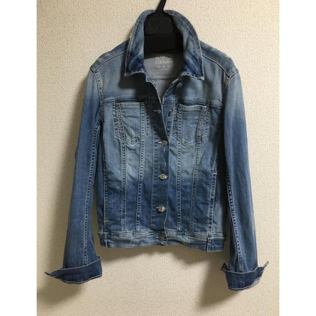 ZARA(ザラ)のZARAデニムジャケット レディースのジャケット/アウター(Gジャン/デニムジャケット)の商品写真