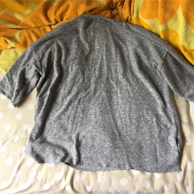 ZARA(ザラ)のZARA ザラ 霜降り グレー カットソー レディースのトップス(カットソー(半袖/袖なし))の商品写真