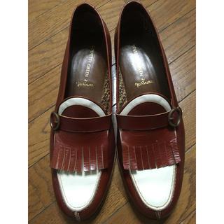 リーガル(REGAL)の未使用‼️ROSSETTI 革靴 ローファー ビジネス靴 フリンジ(ローファー/革靴)