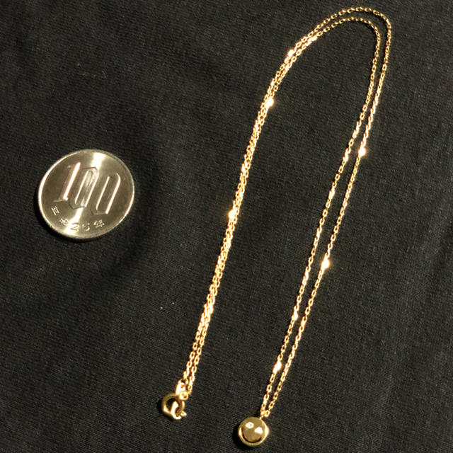 EYEFUNNY(アイファニー)のeyefunny アイファニー 正規 ネックレス スマイル ニコちゃん 45cm レディースのアクセサリー(ネックレス)の商品写真