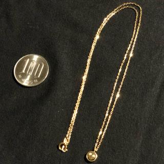 アイファニー(EYEFUNNY)のeyefunny アイファニー 正規 ネックレス スマイル ニコちゃん 45cm(ネックレス)