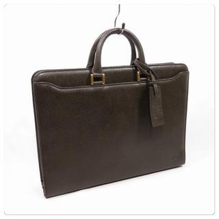 ダックス(DAKS)の美品■DAKS ダックス ビジネスバッグ レザーハンドバッグ 本革 カッコいい(ビジネスバッグ)