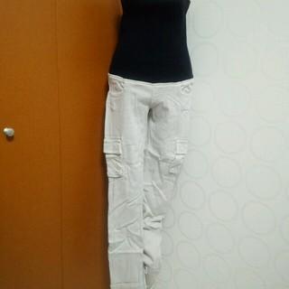 ダブルスタンダードクロージング(DOUBLE STANDARD CLOTHING)のタブスタ マタニティカーゴパンツ(ワークパンツ/カーゴパンツ)