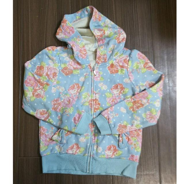 GU(ジーユー)のgu パーカー 120 キッズ/ベビー/マタニティのキッズ服 女の子用(90cm~)(ジャケット/上着)の商品写真