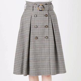 ダズリン(dazzlin)の【dazzlin】トレンチミディスカート♡新品タグ付き(ひざ丈スカート)